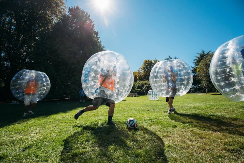 Bubble football adventure park BLackwater Castle