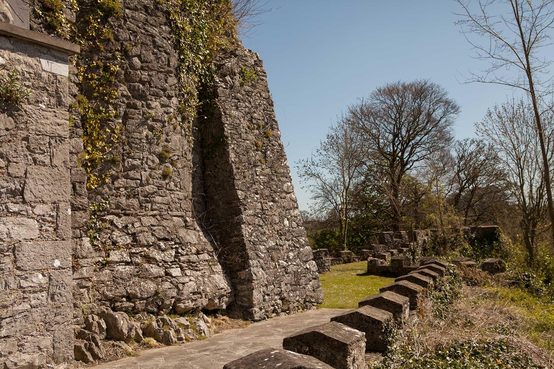 Medieval round tower