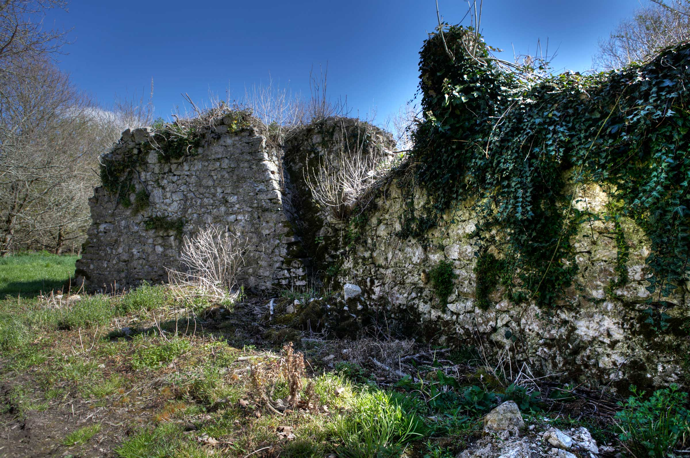 Medieval defence wall