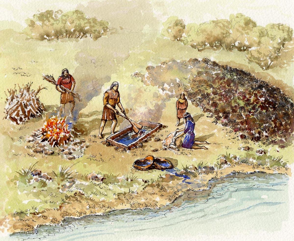 An example of a fulacht fiadh