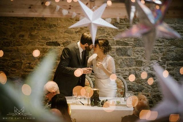 Irish castle wedding